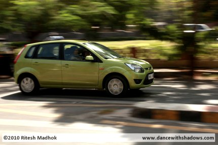 ford figo road test photo