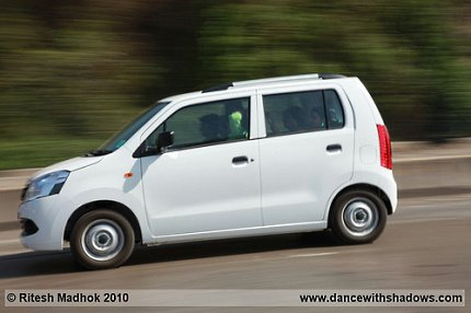 maruti suzuki wagonr road test photo