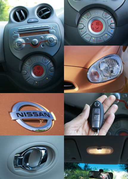 nissan micra features composite photo
