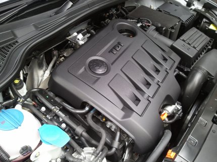 Skoda yeti engine photo