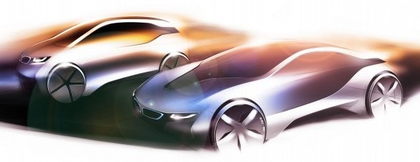 bmw i3and i8 1 photo