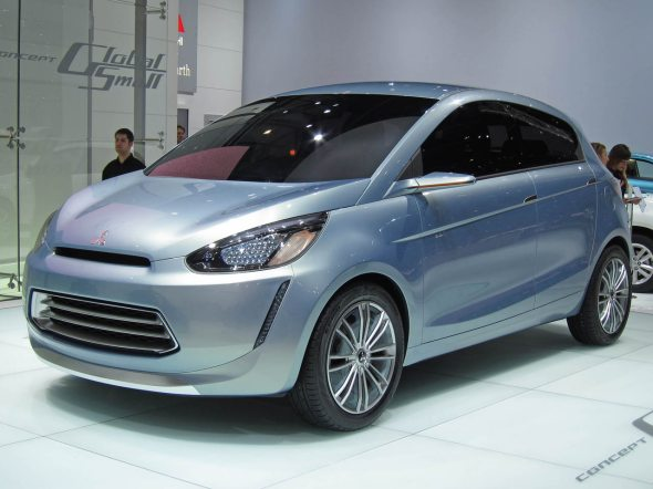 mitsubishi global small car concept 1