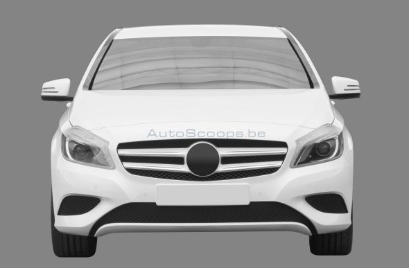 mercedes b-class auto expo launch
