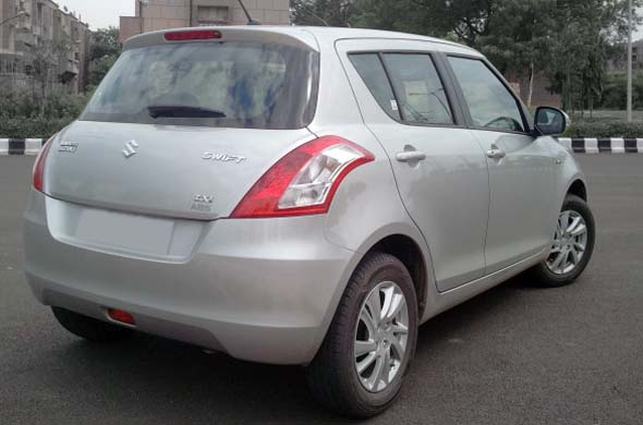 maruti suzuki swift rear photo