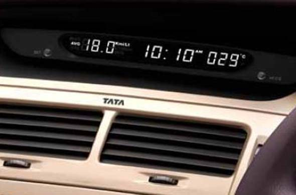 tata manza multi information display