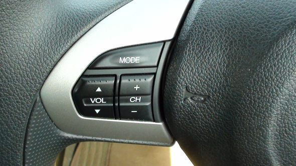honda brio audio controls on steering wheel photo