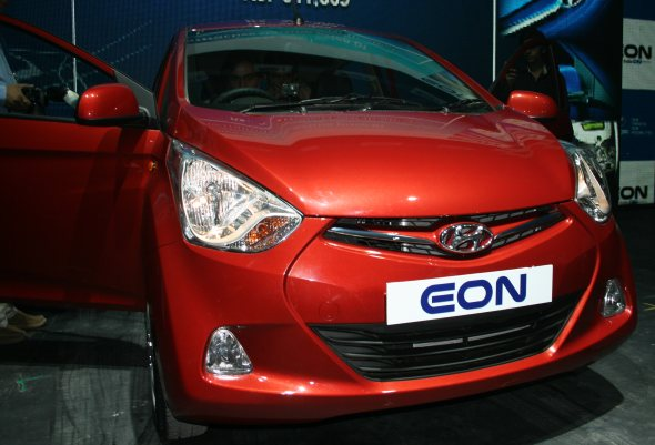 hyundai eon photo gallery
