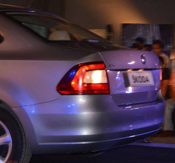 skoda rapid rear photo