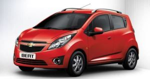 chevrolet beat red color