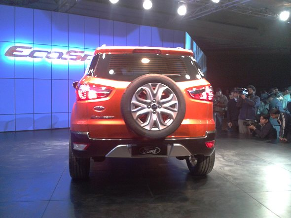 ford ecosport SUV for india photo