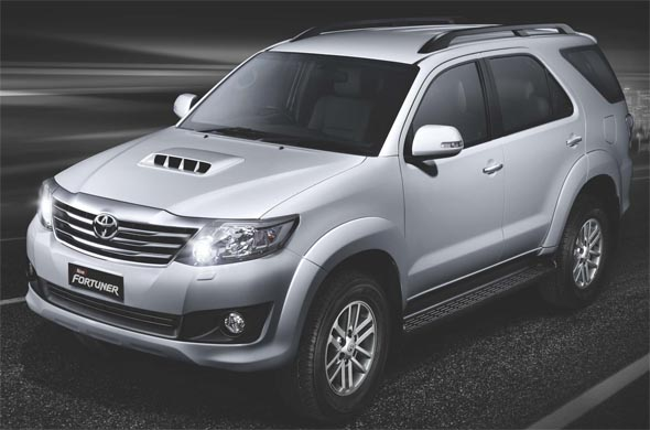 new toyota fortuner front photo
