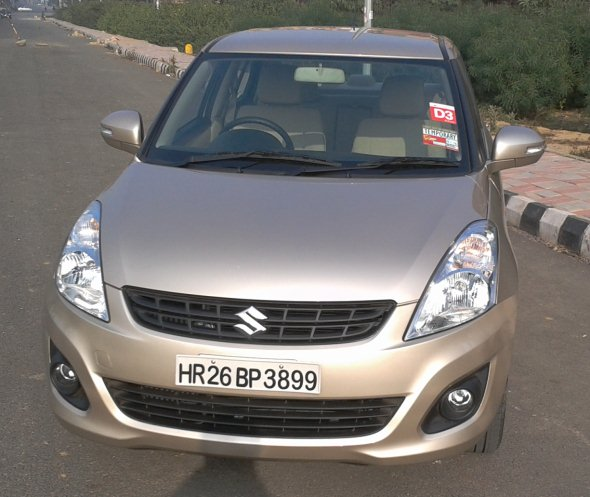 new swift dzire front photo
