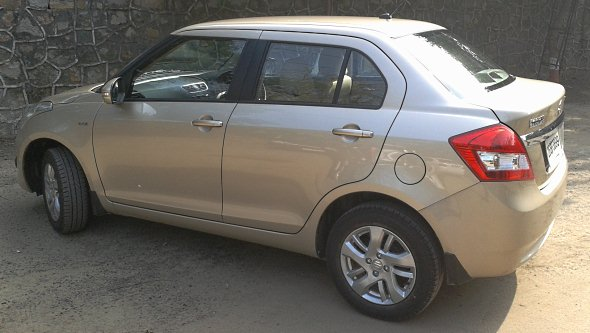 new dzire side photo gallery