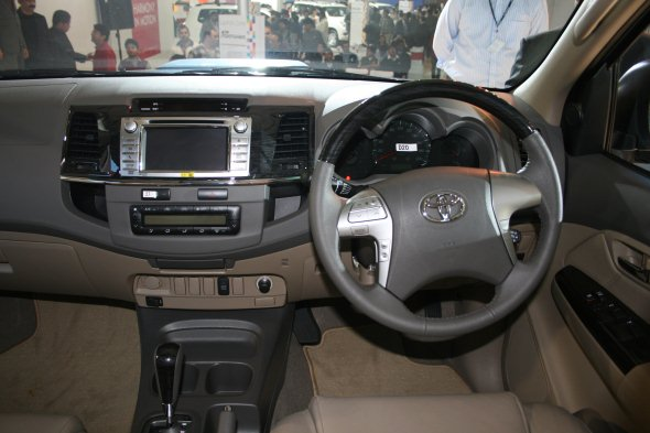 new toyota fortuner photo gallery interior