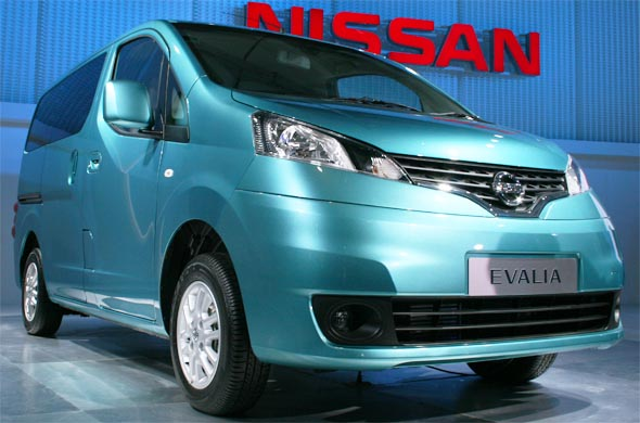 nissan evalia front right