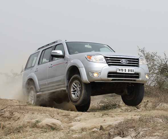 ford endeavour jump