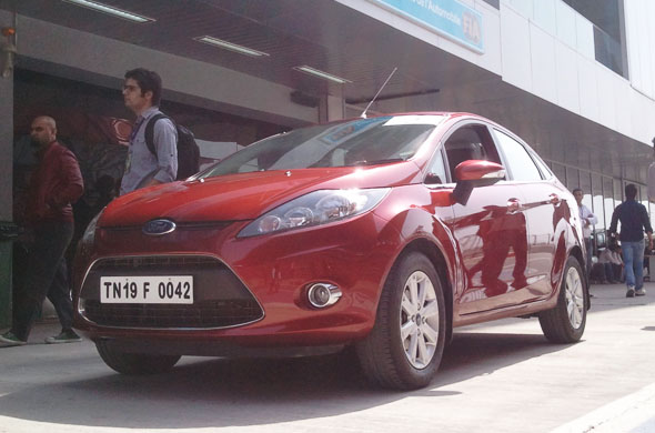 ford fiesta automatic