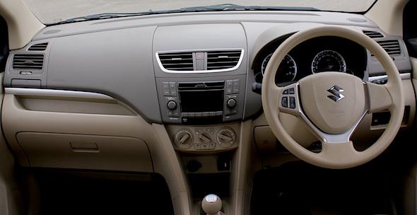 ertiga interior dashboard
