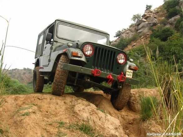 custom build offroader suv india