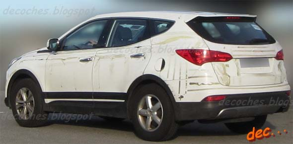 new hyundai santa fe side profile