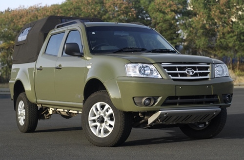 tata xenon military photo