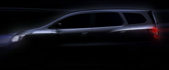 chevrolet spin teaser photo