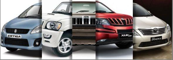 SUV - MPV sales india june 2012