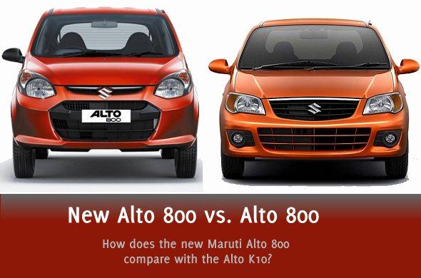 new alto 800 vs alto k10