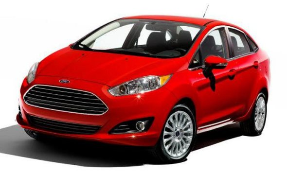 Ford Fiesta Facelift Picture