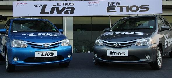 Toyota Etios and Etios Liva facelift