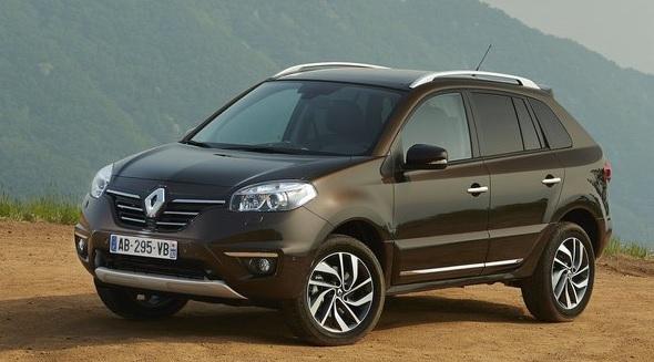 Renault Koleos Facelift Image