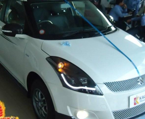 Maruti Suzuki Swift Platinum Edition photo