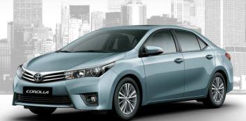 2014 Toyota Corolla Sedan 3