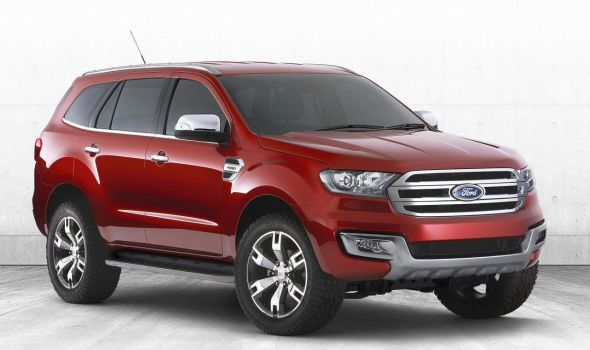 2015 Ford Endeavour SUV Concept Pic