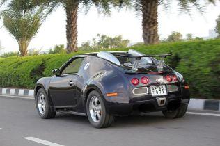 Bugatti Veyron Replica from Maruti Esteem 4