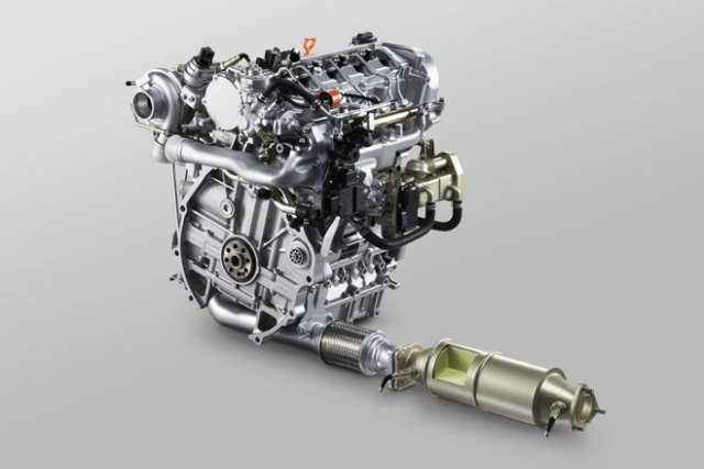 Honda 1.6 liter i-DTEC turbo diesel engine photo