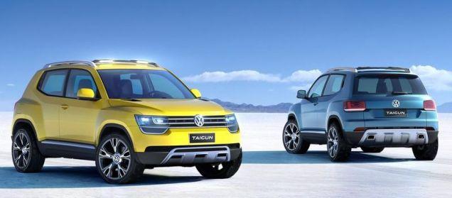 Volkswagen Taigun Compact SUV Concept 6