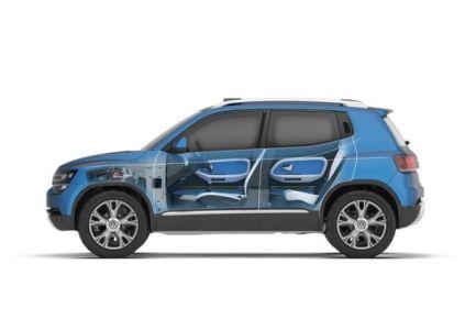 Volkswagen Taigun Compact SUV Concept 9