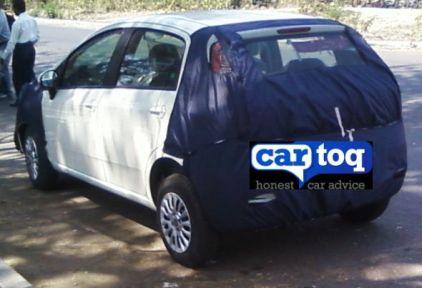 2014 Fiat Grande Punto Spyshot 5