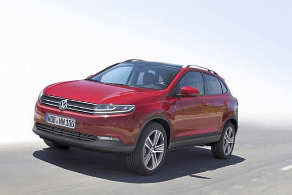 2015 Volkswagen Polo MQB-A based Compact SUV Render Photo