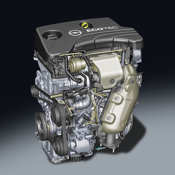 General Motors' 1 Liter ECOTEC Turbo Petrol Engine Pic