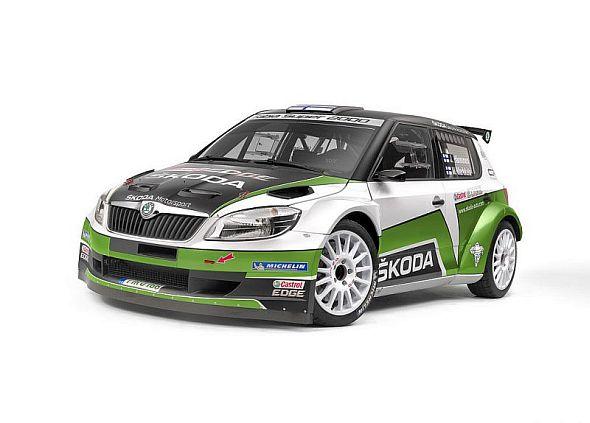 Skoda Fabia S2000 Rally Car Pic