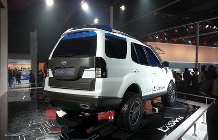 Tata Safari Storme Ladakh SUV Concept 3