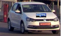 Volkswagen Polo Facelift Spyshot 3