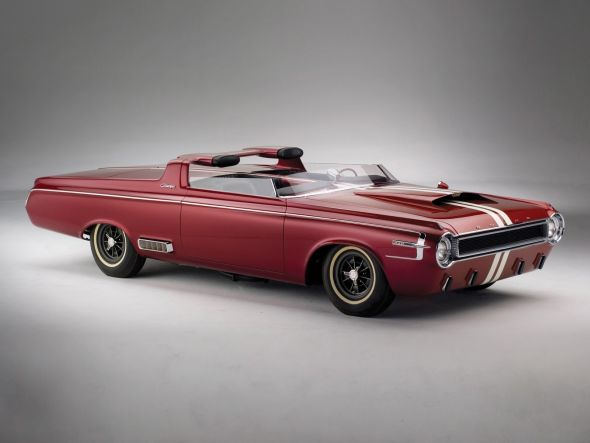 1964 Dodge Charger Roadster Concept Image