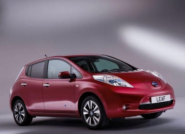 Nissan Leaf Electric Car Pic