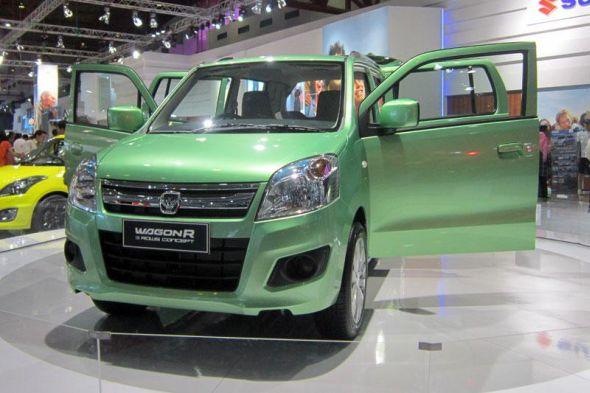 Suzuki WagonR 3 Rows 7 Seat Concept Pic