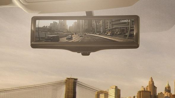 Nissan Digital Rear View Camera Photo