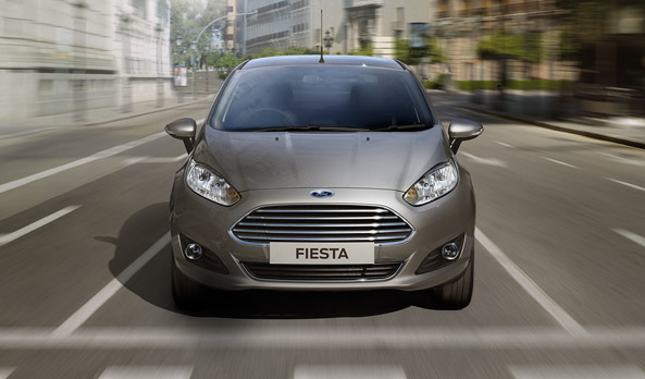 2014 Ford Fiesta Facelift Pic