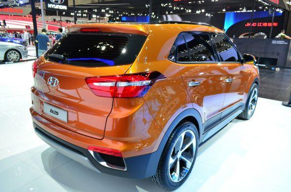 2015 Hyundai iX25 Compact SUV 4
